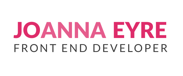 Joanna Eyre Front End Developer